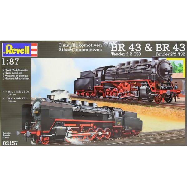 Steam Locomotive BR 43